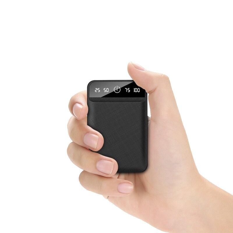 10000 мАч портативное зарядное устройство для мобильного телефона, мини-зарядное устройство, USB внешний аккумулятор для Xiaomi iPhone Phone 11 XR Poverbank