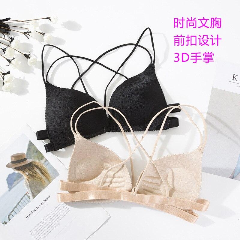 3D Sexy Dessous Nahtlose Sport Bh U Typ Backless Liebsten Top Bh Push-Up Bralette Büstenhalter Frauen Unterwäsche yj01