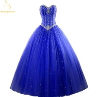bealegantom 2021 new quinceanera dresses ball gowns beads dress lace up for 15 years party gowns vestido de 15 anos qa519