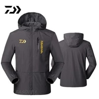 daiwa summer outdoor jacket mens thin fishing clothing breathable windproof and rainproof fishing jacket for mountaineering