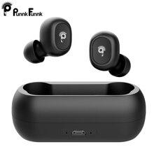 TWS écouteurs sans fil écouteur Bluetooth 5.0 suppression de bruit casque 3D stéréo jeu casque double Microphone pour iphone mobile