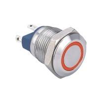 ELEWIND 12mm 금속 푸시 버튼 스위치 순간 1NO (PM121F-10E/J/R/12 V/S)