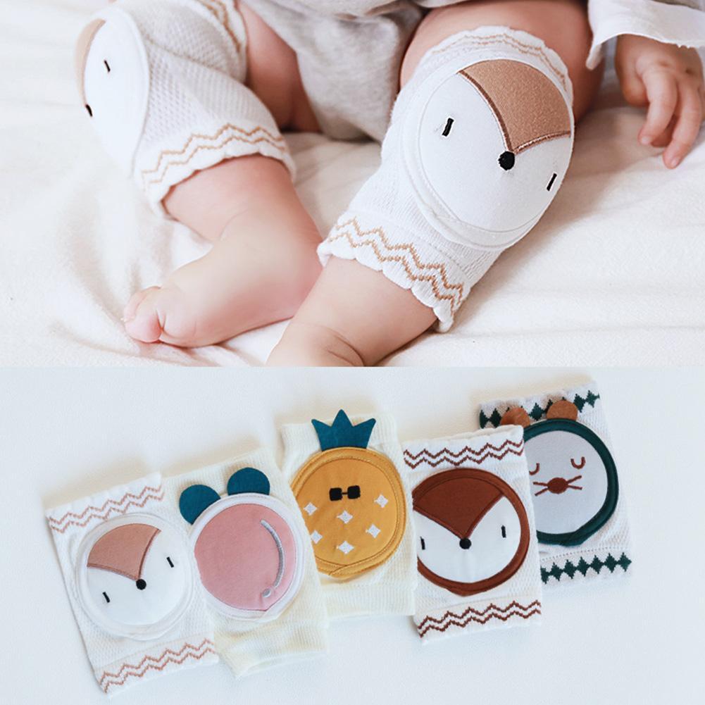2 uds, rodillera para bebé, almohadilla para codo de gatear de seguridad para niños pequeños, calentador de piernas para bebé, rodillera, protector de apoyo para bebé