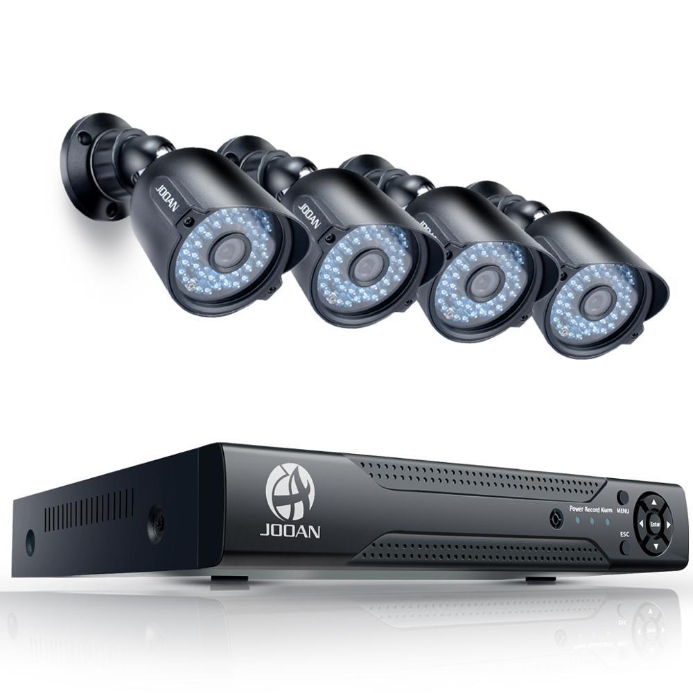 مراقبة الفيديو نظام الدائرة التلفزيونية المغلقة 1080P في الهواء الطلق كاميرات 8CH كاميرا أمان DVR يوم/ليلة لتقوم بها بنفسك عدة كاميرا AHD النظام