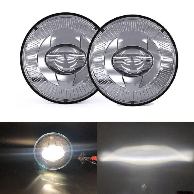 Par led luzes de nevoeiro 5202 passando lâmpadas condução apto para chevy tahoe camaro silverado para gmc