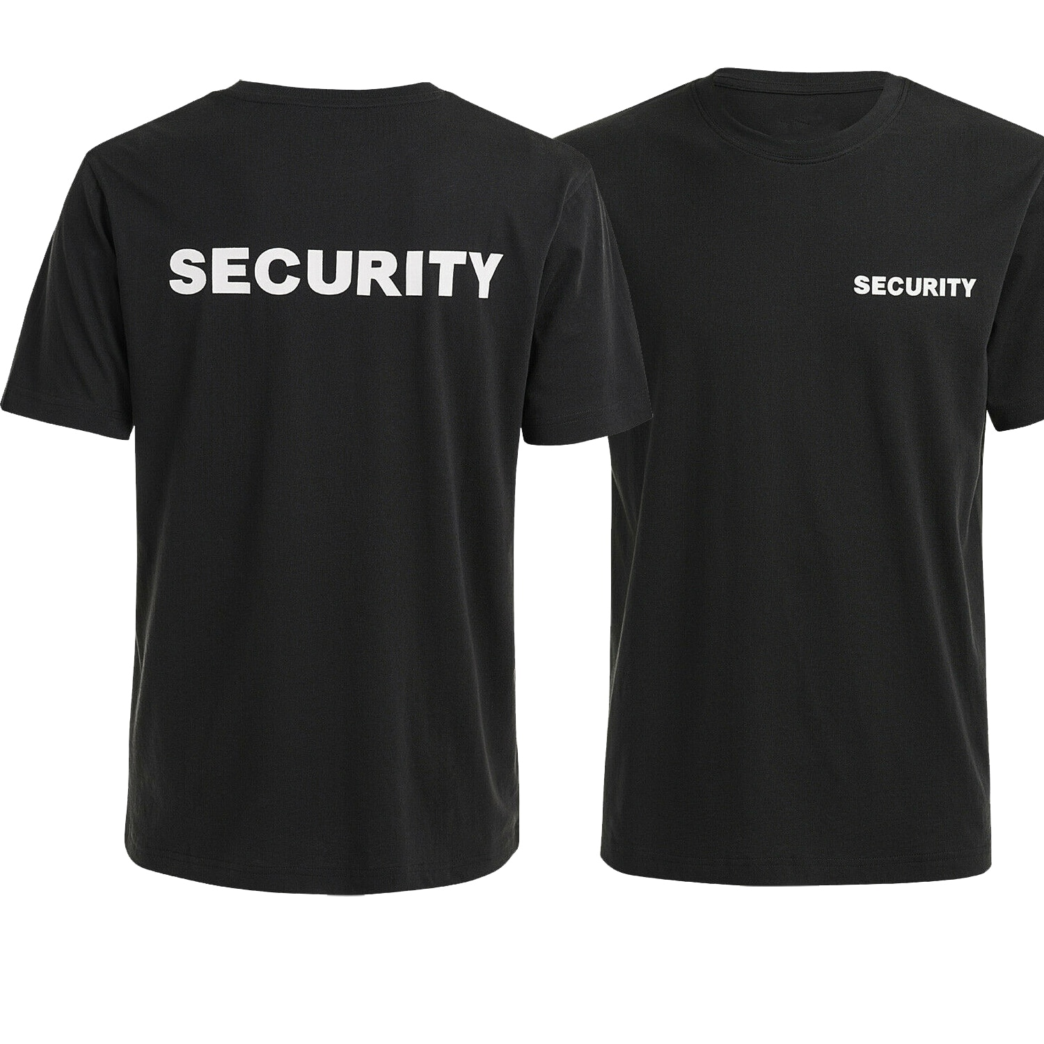 SECURITY T-Shirt Double Sided Printing Cotton O-Neck Short Sleeve Unisex T Shirt New Size S-3XL недорого
