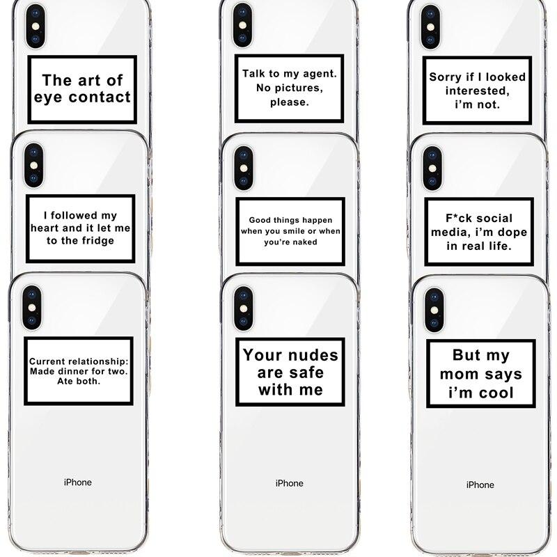 جيد فيبي اقتباس بك nudes الأشياء الجيدة لينة غطاء من البولي يوريثان الحراري حقيبة لهاتف أي فون 7 8 6 6S زائد X XR XS ماكس 11 برو ماكس الهاتف coque