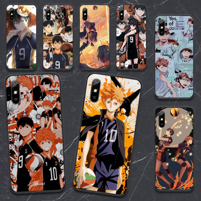 Anime Haikyuu Phone Case For Xiaomi Redmi Note 4 4x 5 6 7 8 pro S2 PLUS 6A PRO