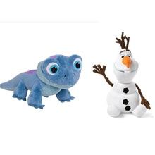 Sneeuwpop Olaf Nieuwe Fire Hagedis Koorts Fire Elfen Anna Elsa 2 Knuffel Gevuld Pop Prinses Pluche Doll Voor Kid kind