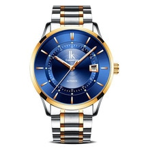 IK Colouring Watches Men Automatic Mechanical Watches Waterproof Stainless Steel Men's Watches Man W
