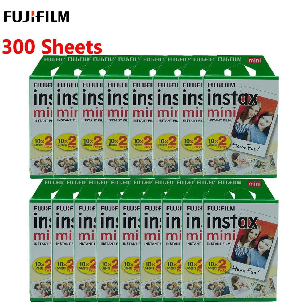 Fujifilm Instax Mini Film Branco Para FUJI Fujifilm Instant Photo Camera Mini 9 Mini 8 7s 70 90 Filmes 10 20 40 60 80 100 folhas