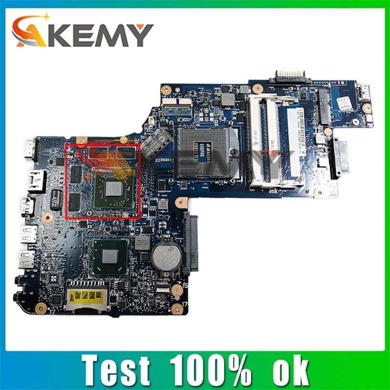 AKEMY اللوحة الأم للكمبيوتر المحمول توشيبا L855D C855D C850D H000052650 المقبس FS1 DDR3 اللوحة الرئيسية يعمل