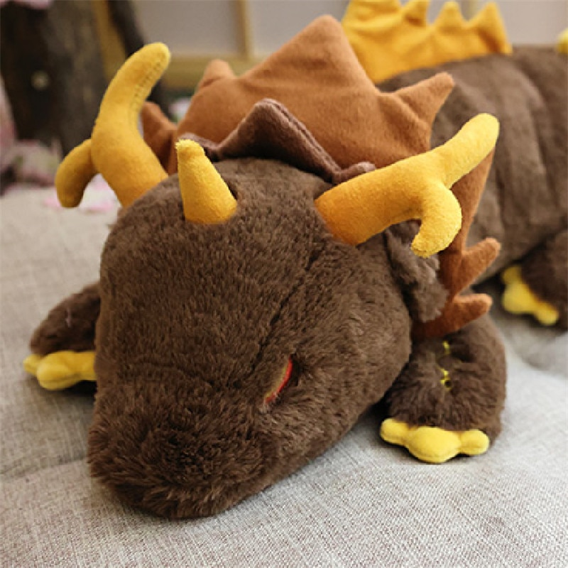 Game Genshin Impact Morax Dragon Plush Doll Pillows 68CM Anime Cosplay Costume Props Accessories Cartoon Bolster