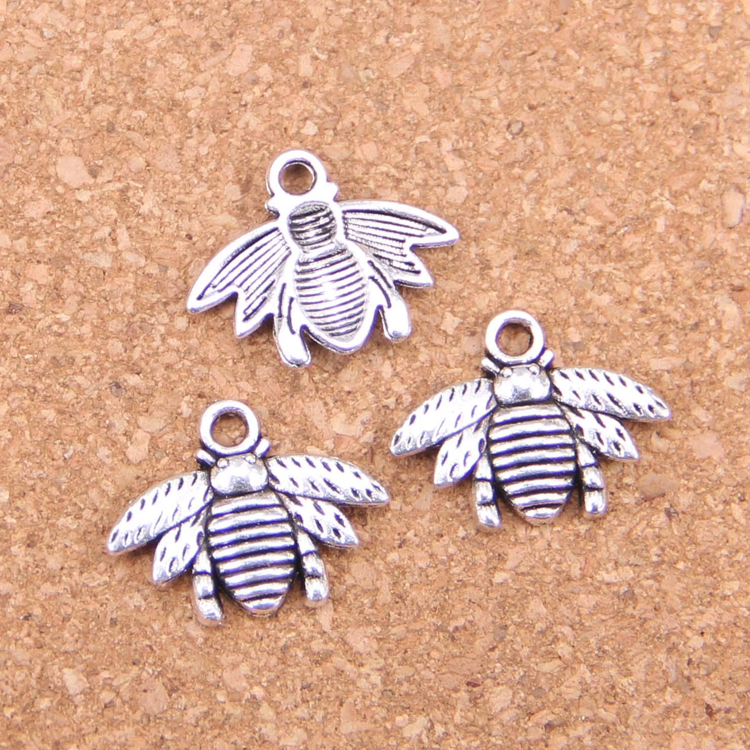 20pcs Charms bumblebee honey bee 21x16mm Antique Pendants,Vintage Tibetan Silver Jewelry,DIY for bracelet necklace