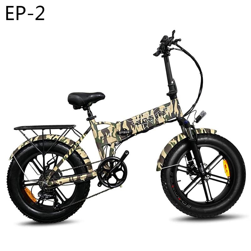 (EU Lager) 20*4,0 zoll Fett Reifen e Bike Elektro fahrrad 48V 12,5 EINE elektrische fahrrad Faltbare 38 km/h 500W Leistungsstarke Berg Schnee ebike