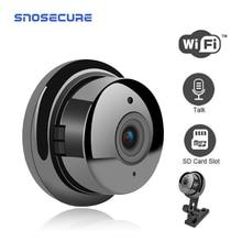 SNOSECURE HD 1080P MiNi IP kamera ev güvenlik Dvr gece görüş hareket algılama Mini kamera 2 yönlü ses kolay kurulum WiFi kamera