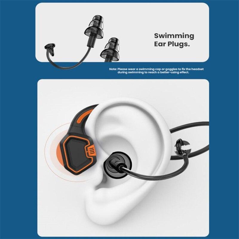 For xiaomi Huawei  Bone Conduction Earphone IPX8 Waterproof  Wireless Headphones Sports Outdoor Running earbuds bluetooth 5.1 enlarge