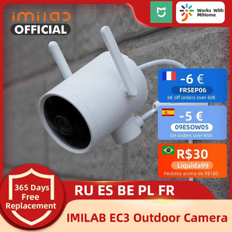 Imilab Smart Camrera EC3 2K HD Wi-Fi Camrera Mihome Security Camera Mijia Ip Outdoor Built-in Hotspot CCTV Surveillance Camera