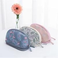 Sac de voyage multifonction Flamingo  sac a cosmetiques  sac de rangement de maquillage  organisateur de brosses  Double couche  trousse de toilette feminine