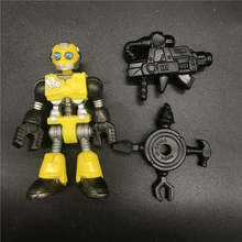 Sac aveugle Imaginext série 1-jouet modèle de figurine de bourdons Robot jaune