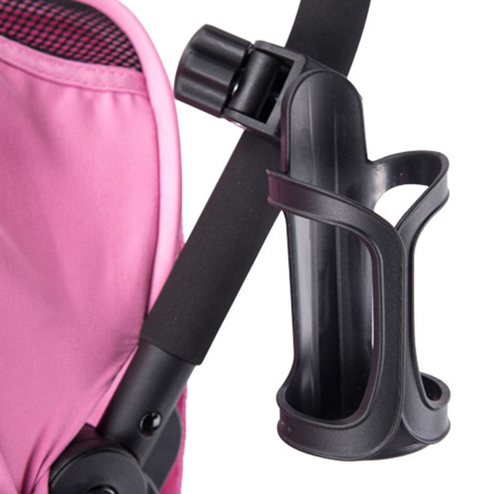 14cm 360 grados de ángulo ajustable cochecito de bebé soporte de taza Universal cochecito botella de lactancia estante para sombrilla giratorio suministro de silla de bebé