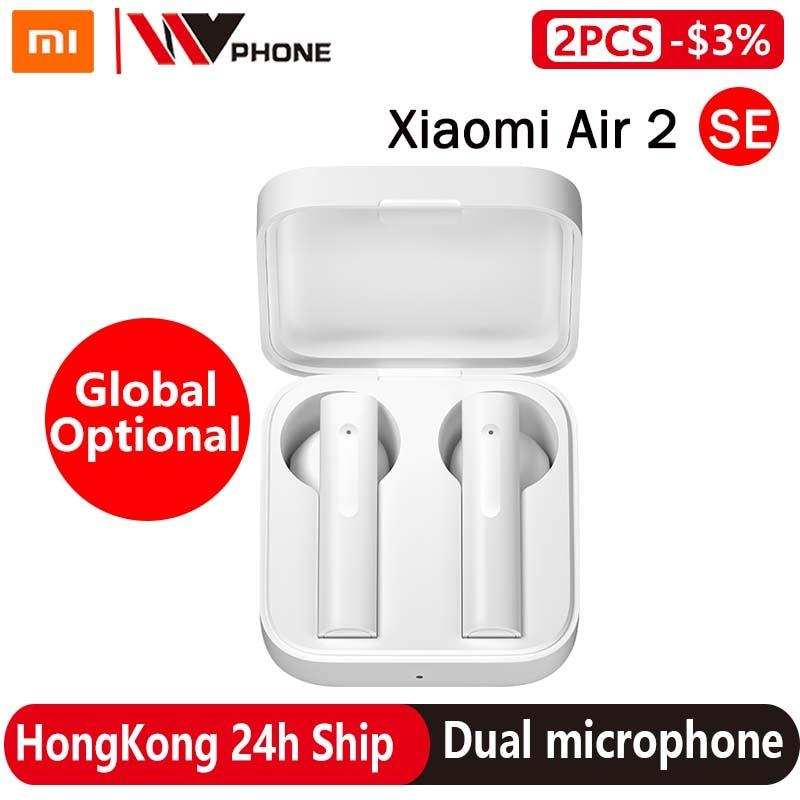 Наушники TWS Xiaomi Air2 SE, гарнитура беспроводная Bluetooth Air 2 SE, наушники AirDots pro 2SE 2 SE с батареей 20 часов, сенсорное управление
