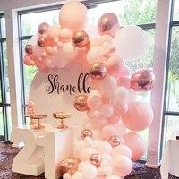104pcs wedding birthday festival day balloon wreath arch set confetti latex balloon accessories anniversary party decorations