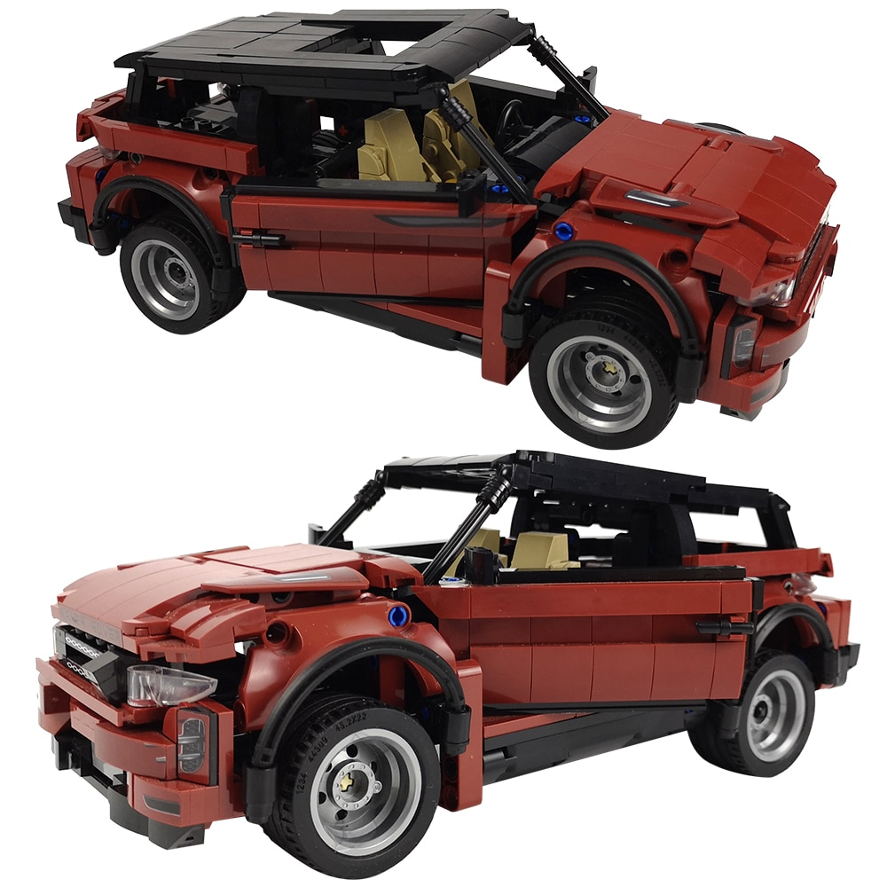 Technic Super deportes de competición bloques de construcción de automóviles City Pull Back Speed Racer vehículos todoterreno ladrillos juguetes niños regalo