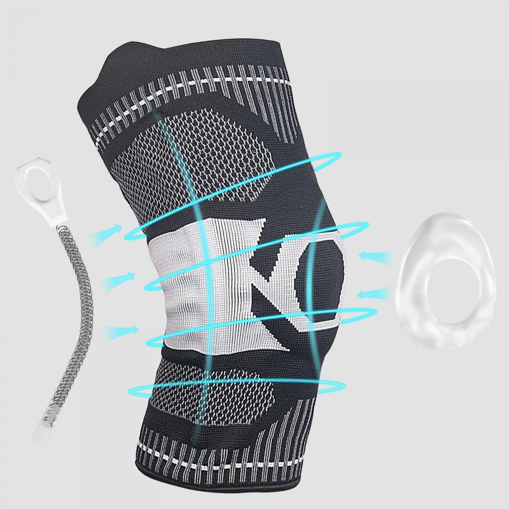 knee protector support compression knee pads for joints arthritis brace sport leg warmers volleyball football elastic bandage Knee Pads Joints Protector Support Knee Braces For Arthritis Compression Protection Sport Basketball Football Tennis Gym Workout