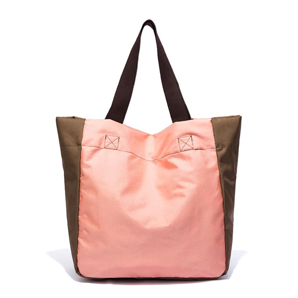 حمل حقيبة خفيفة الوزن المتوسطة قابلة لإعادة الاستخدام البقالة التسوق حقيبة ملابس مناسبة DIY بها بنفسك الإعلان تعزيز هدية النشاط الهبة