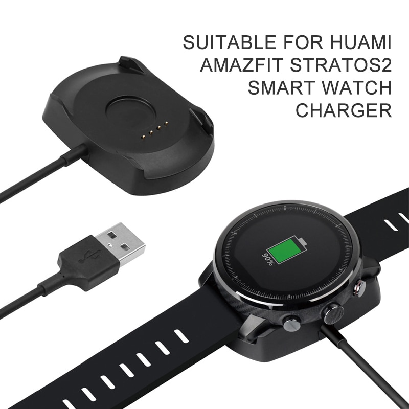 2021 Newest Charger Cradle Charging Dock Station for Xiaomi Huami Amazfit Stratos 2/2S Smart Watch Fast Charge Stratos 2S