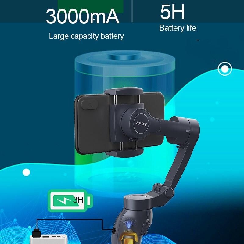 3-Axis Handheld Gimbal L7B Stabilizer for Smartphone Xiaomi Handheld Smartphone Phone Gimbal Stabilizer Estabilizador Celular enlarge