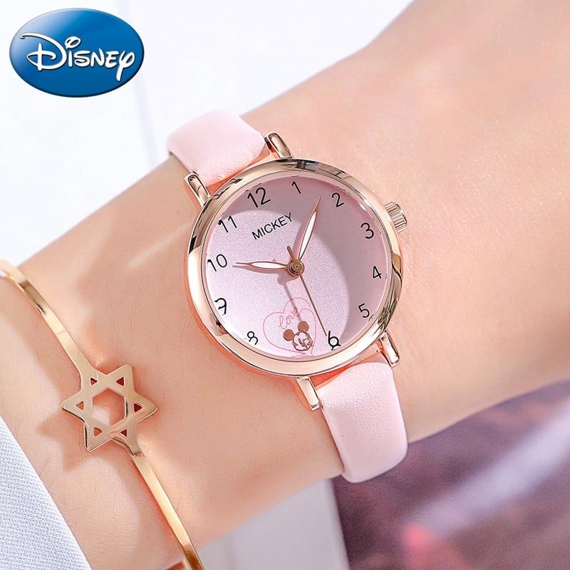 Love Heart Girl Quartz Fashion Cute Children Watches Kids Simple Lovely Watch Female Disney Junior Gift Student Time Teen Clocks