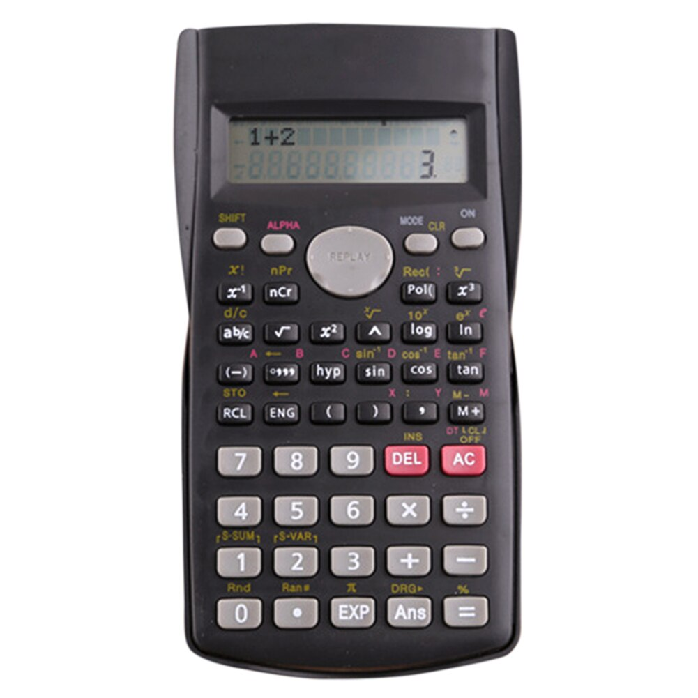Portable Scientific Calculator Stationery School Office Engineering Multifunction School Engineering Stationery Scientific Tool