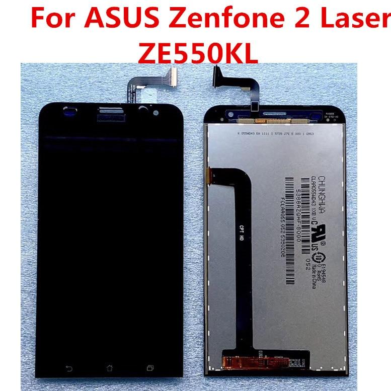 JIEYER para ASUS Zenfone 2 Laser ZE550KL pantalla LCD pantalla táctil piezas de repuesto para ASUS ZE550KL LCD