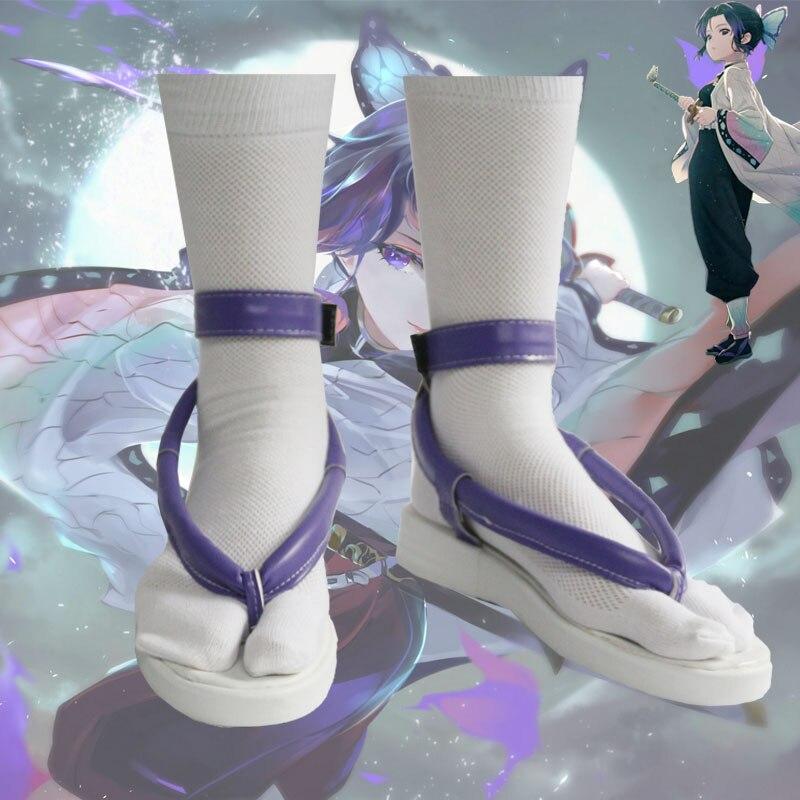 أزياء تنكرية للجنسين ، أحذية مصنوعة حسب الطلب ، أزياء أنيمي ، قاتل الشياطين ، كوتشو ، شينوبو