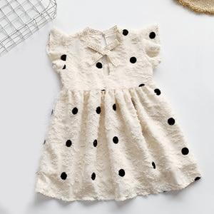 Dress 2021 New Summer Princess Dress Evening Dress Polka Dot Pattern Clothing For Girls Party Dress
