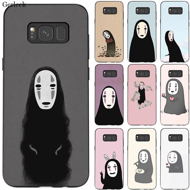 Caja del teléfono para Samsung J6 A70 A60 A50 A40 A20 A30 A10 A7 A6 A5 A3 A8 A9 cubierta sin rostro hombre