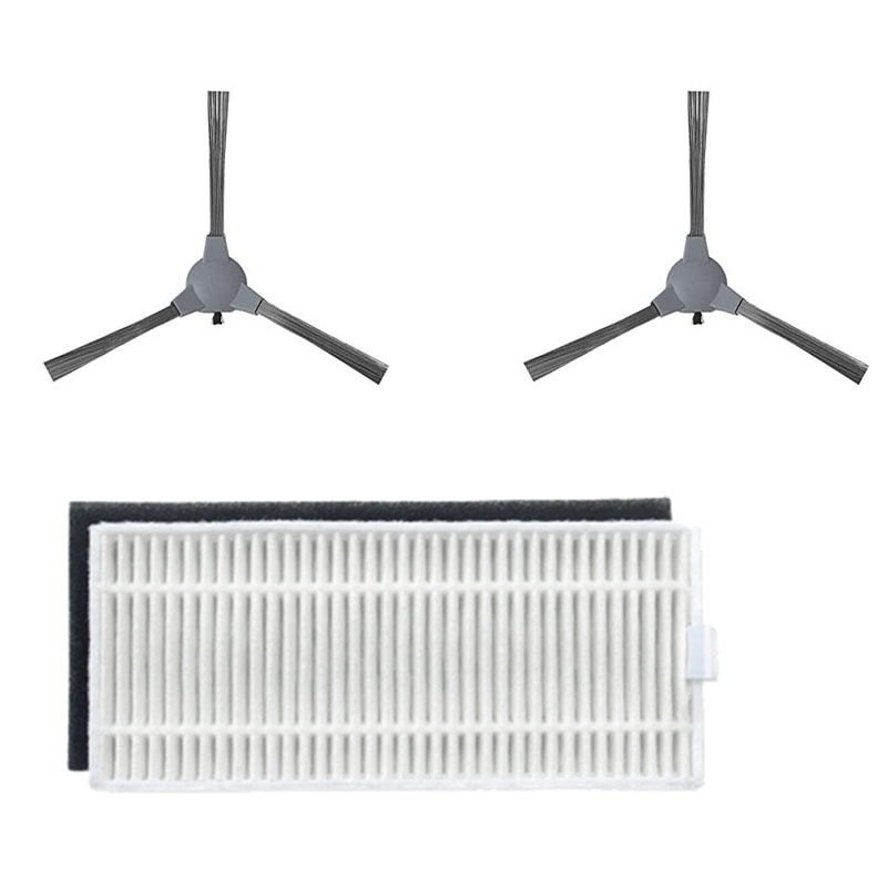 3PCS Replacement Filter &Side Brush Accessories for Coredy 3500 R3500 R3500S R750 Robot Vacuum Highly Efficient