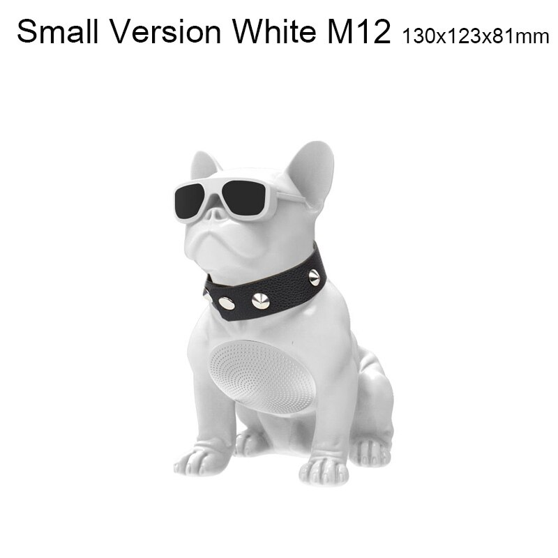 Wireless Bluetooth Speaker Cartoon Doll Bulldog Subwoofer Multipurpose Computer PC Speaker MP3 Player FM Radio Support TF Card enlarge