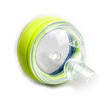 Pezón de silicona de repuesto para bebé, taza de silicona con deformación de flujo variable, tapa de taza, 2 paquetes