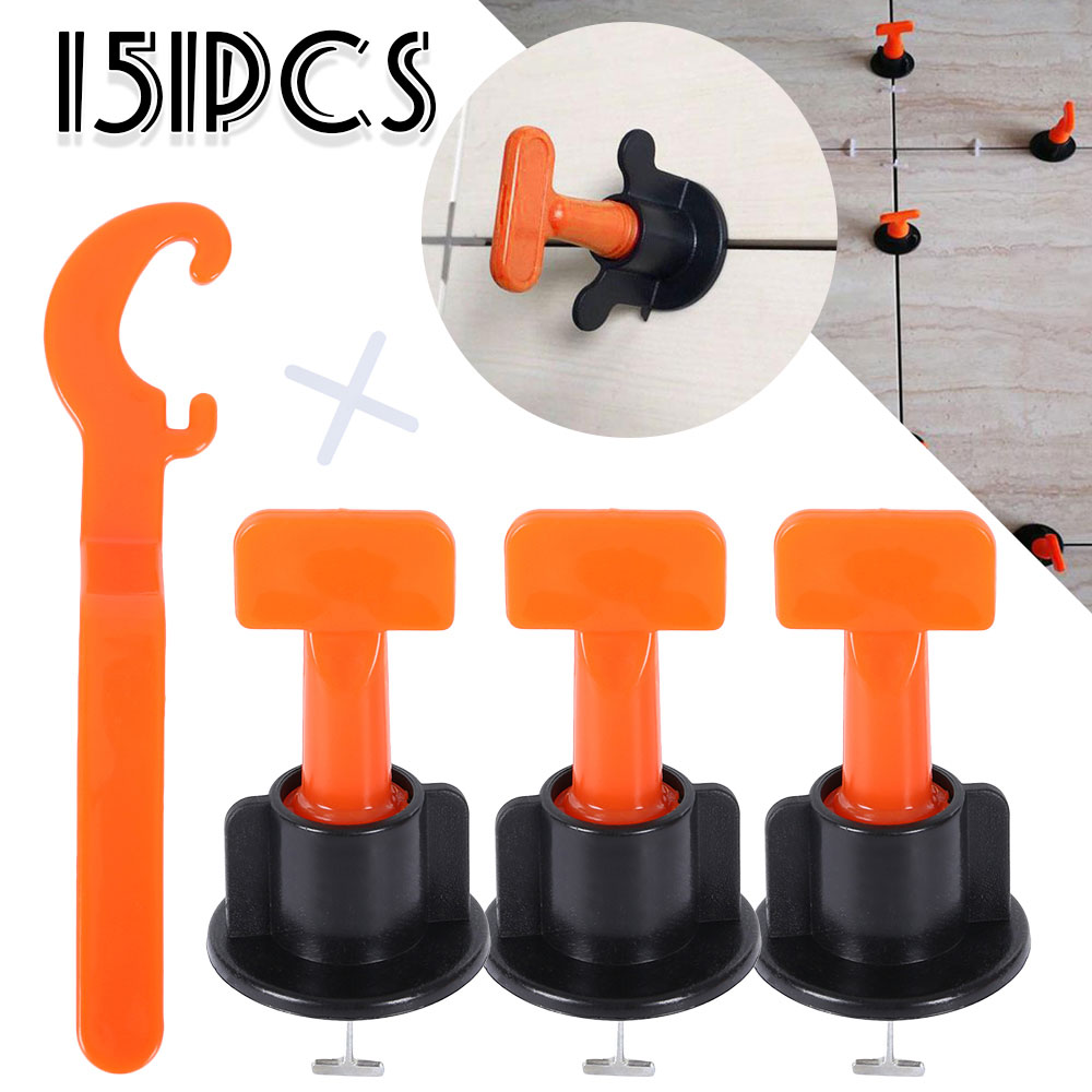 151Pcs Level Wedges Tile Spacers for Flooring Wall Tile Spacer Carrelage Tile Leveling System Flooring Reusable Wall Tile Tools