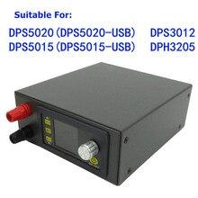 1 Juego de Kit de carcasa de módulo de fuente de alimentación programable Digital LCD para DP50V5A DPS5020 DPS5015 DP50V2A Durable