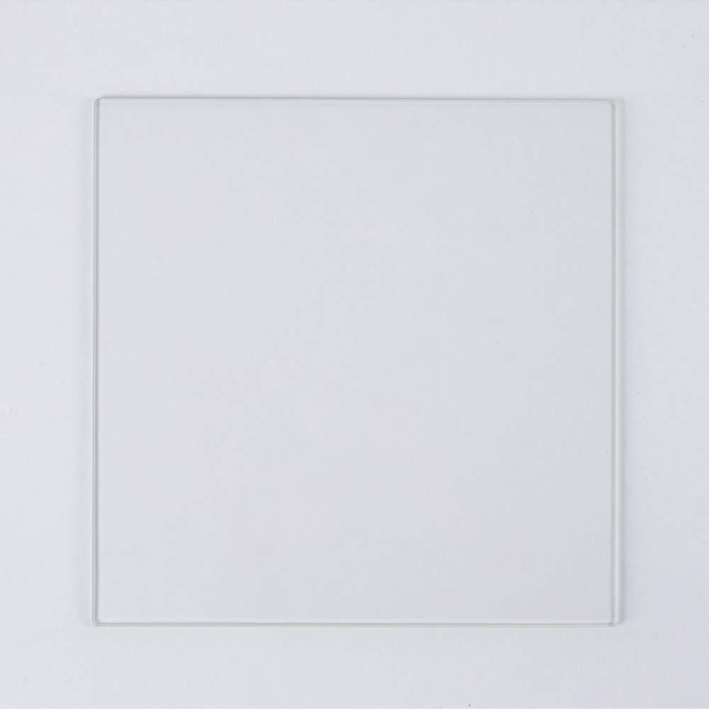 410 مللي متر x 430 مللي متر x 4 مللي متر البورسليكات الزجاج بناء لوحة ل Anycubic تشيرون 3D طابعة ، تماما مصقول حواف (410x430x4 مللي متر)