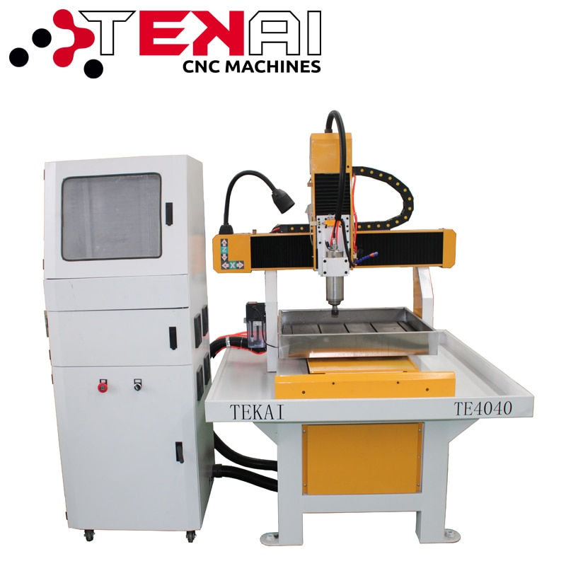 TEKAI 3d stl files wood carving milling machine for metal cnc 6090 mini cnc desktop mini machines metal cutting
