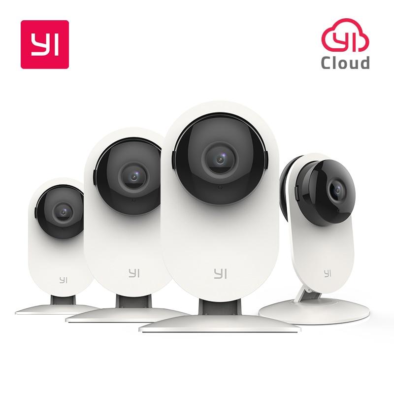 YI 4pc Home Kamera, 1080p Wi-Fi IP Sicherheit Überwachung Smart System mit Nachtsicht, baby Monitor auf iOS, Android App