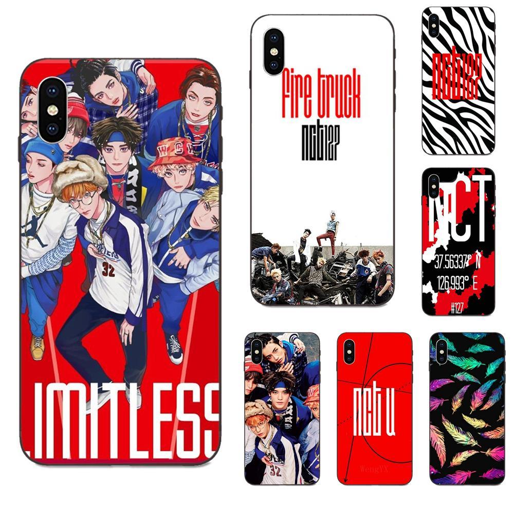 Para Huawei Mate 9 10 20 P8 P9 P10 P20 P30 Lite Juego Mini Pro P smart Plus Z 2017 2019 TPU de protección Nct 127 Kpop grupo Niño