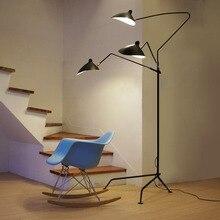 Nordic Dawn Spider Serge Mouille Vloerlamp Modellering Slaapkamer Industriële Staande Lamp Eenvoudige Woonkamer Led Floor Lichtpunt