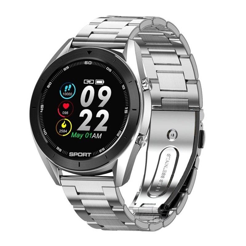 DT99 Bluetooth Смарт-часы для мужчин ЭКГ обнаружения IP68 Водонепроницаемый несколько горячей продажи циферблатов фитнес-трекер длительный срок службы батареи