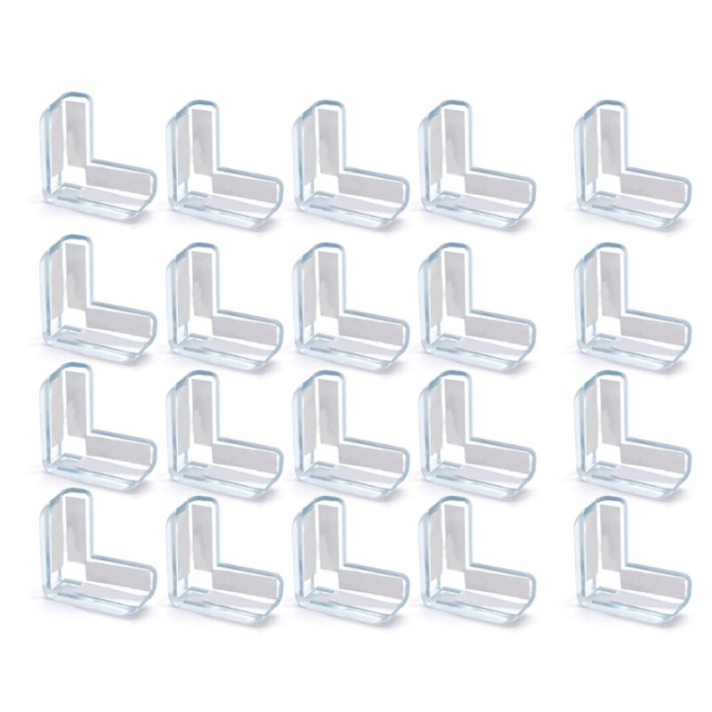 20 pcs Table table Corner protector Edge Baby safety buffer Protective caps